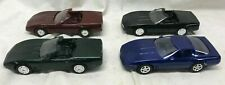 Lot of 4 CHEVY CORVETTE Vette DEALER PROMO Model CARS 1988 1989 1994 AMT