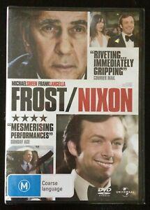 FROST/NIXON Michael Sheen, Frank Langella, Sam Rockwell, Kevin Bacon DVD