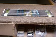 """new gold tip kinetic kaos 400 spine arrows with 2"""" raptor vanes 1/2 doz"""