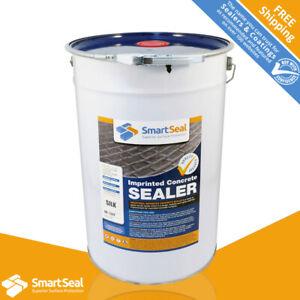 SMARTSEAL Pattern Imprinted DRIVE & PATIO Concrete Sealer SILK(Sample, 5 & 25L)