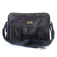 NEW Black Messenger Shoulder Bag Organizer Tool bag Purse