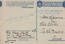 """A1996) WW2 SLOVENIA, GAF, BOLLO """"COMANDO XXII / C SOTTOSETTORE MONTENERO D'IDRIA"""
