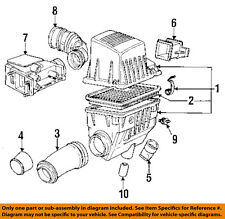 BMW OEM 1991 318i 1.8L-L4 Air Inlet-Boot Hose Duct Tube 13711734385