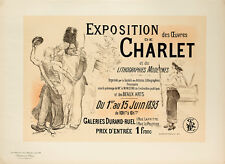 Les Maitres de l'Affiche pl.194 Charlet by Adolphe Leon Willette Original Poster