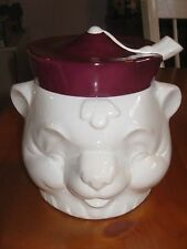 ~Vintage GOEBEL Teddy Bear Cookie Jar RARE W Germany Perfect Condition~