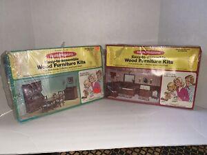 RealLife Miniatures Dining Room Kit190.. Bathroom Kit 197