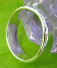 """SPECIAL-REAL 925 sterling silver """"6mm THICK CURVED WEDDING BAND"""" RING-MEN WOMEN"""