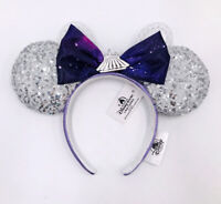 Sequins Shanghai Purple Minnie Mouse Space Mountain Ears Disney Parks 2021