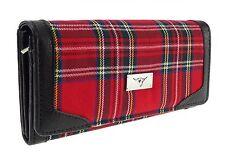 Ladies Royal Stewart Tartan Long Purse TB8000