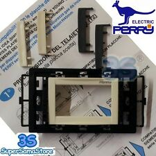 3S Perry 1PAFT54243IP ADATTATORE kit di finitura placche per termostati incasso