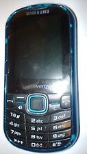 Samsung Intensity II Phone Verizon Wireless SCH-U460 Black 2 qwerty camera blue