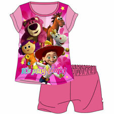 NEW  Cotton Official Girls Toy Story Shortie Pyjamas  set 1-5 Years