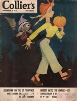 1945 Colliers November 3-Vernon Grant Halloween; Stork Club;Puerto Rico grows up