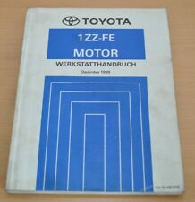 Toyota MR2 Motor 1ZZ-FE Serie ZZW30  Werkstatthandbuch 1999 Abgasreinigung