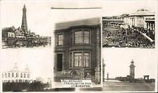 Blackpool Guest House. Mrs Ratcliffe, 27 Burlington Road.