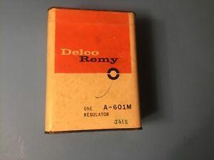 Delco-Remy A-601 (M)  Volt.Reg 6V 1940-50's Studebaker, 1960-61 American Motors