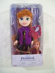 "NEW DISNEY FROZEN II PETITE 6"" ANNA ADVENTURE DOLL JAKKS DISNEY PRINCESS"