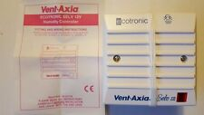 Vent Axia Ecotronic SELV12V 5.6A Humidity Sensor With Pullcord Switch ref.563531