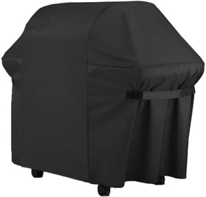 """Outdoor Waterproof Barbeque Cover Oxford Fabric Heavy Duty 60 x 30 x 47.5"""" Black"""