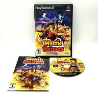 Mystic Heroes Sony PlayStation 2 Game PS2 Complete Very Good Resurfaced Tested