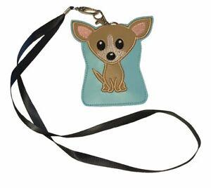 Chihuahua Dog ID Lanyard Wallet