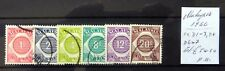 MALAYSIA 1966 Postage Dues As Described Fine/Used NB3807
