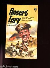 DESERT FURY ( British regt in No. Africa 1942 novel) Landsborough 1st US SB VG
