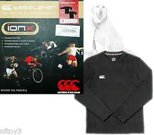 Canterbury IonX Sport BaseLayer Long Sleeve Shirt Antibacterial Men Medium (P2)