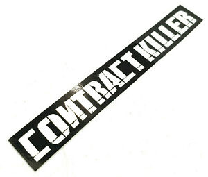 NEW CONTRACT KILLER PAINTBALL STICKER (2PACK)- RARE