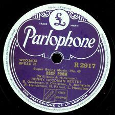 BENNY GOODMAN SEXTET Rose Room / Flying Home -Klassiker!-  Schellack 78rpm X3318