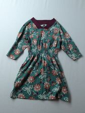 Girl Tea Collection Flor de Papel Raglan Fall Dress Size 4