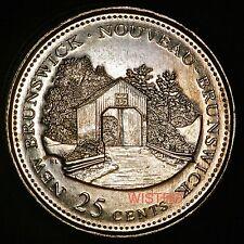 1992 Brilliant Uncirculated Quarter - 25cent New Brunswick