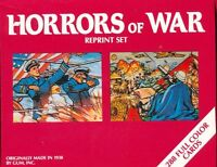 Horrors of WAR Set World War II trading  set of 288 Cards with HIGH NUMBER SET