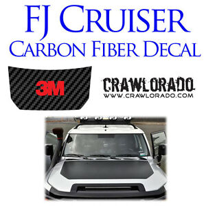FJ Cruiser Hood  Decal Sticker Toyota Carbon Fiber