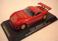qq C2245 SCALEXTRIC UK TVR SPEED 12 40th ANNIVERSARY SCALEXTRIC CATALOGUE l. e.