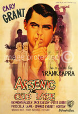Arsenic and Old Lace Cary Grant Vintage Movie Poster