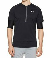 NEW Under Armour UA Transport 2-in-1 Running S/S ½ Zip 1289344 New Size L XL $80