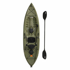 Lifetime Hydros Angler 85 Fishing Kayak River Lake Sports Water- Stone Or Green