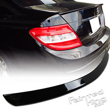 --Painted 08 13 Mercedes BENZ W204 C-class Trunk Spoiler 197 4DR only