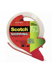 Scotch Sure Start Shipping Packaging Tape With Dispenser 1.88 in x 38.2 yd Clear