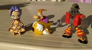 Rayman Ubisoft France Exclusive Mcdo McDonalds Happy Meal 2000 3 figures