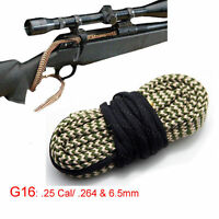 Xhunter Bore Snake .25 Cal .264 6.5 mm Boresnake Cleaning Kit Rifle Cleaner G16