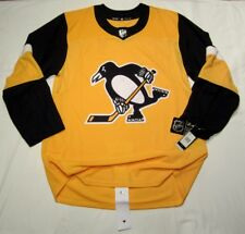 PITTSBURGH PENGUINS size 54 = XL - Alternate 3rd Style ADIDAS NHL HOCKEY JERSEY