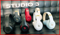 Like N3W Beats by Dre Studio 3 Wireless Over Ear Headphones Matte Black STUDIO3