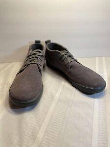 Keen Mens Santa Cruz Chukka Sneakers Gray 1007674 Lace Up Mid Top Shoes 13