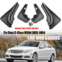 OE-Style Mudguards Mud Flaps Splash Guards For Benz C-Class W204 2012-2014