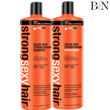 Sexy Hair Color Safe Strengthening Shampoo & Conditioner 1000ml Duo + FREE PUMPS