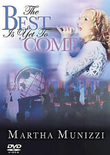 Martha Munizzi - The Best is Yet to Come (DVD, 2005)