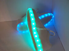 Electric Styles Light Up White LED Sneakers Shoes Rave  SIZE M 7 W 9 Euro 40