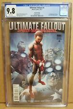 ULTIMATE FALLOUT #4 CGC 9.8 (NM/M) 2ND PRINT 1ST APPEARANCE OF MILES MORALES
